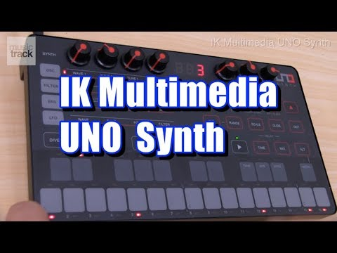 IK Multimedia UNO Synth Demo & Review Mp3