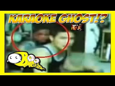 Karaoke Ghost Face | Ghost Caught on Tape? | Boo Review #3