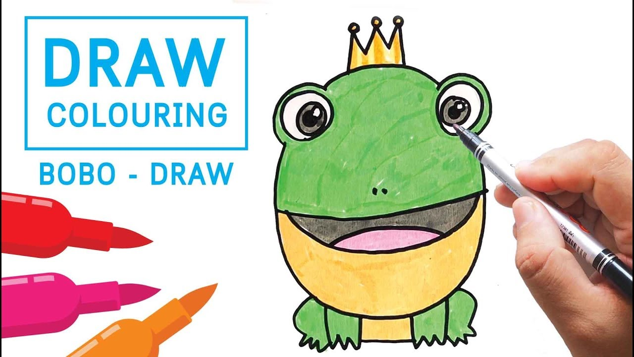 Practical Crazy Frog Coloring Pages book for kids free coloring pages