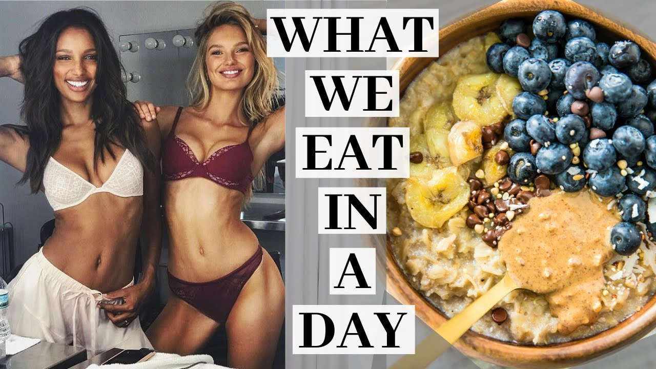 <div>What we EAT in a DAY as Victoria's Secret Models</div>