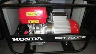 Хонда/Honda ECT 7000 P трехфазный бензиновый генератор IP-54(, 2016-04-19T11:02:38.000Z)