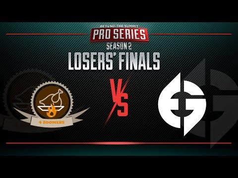 4Zoomers vs Evil Geniuses Game 2 - BTS Pro Series 2: Americas - Losers' Finals w/ T-Panda & Kips