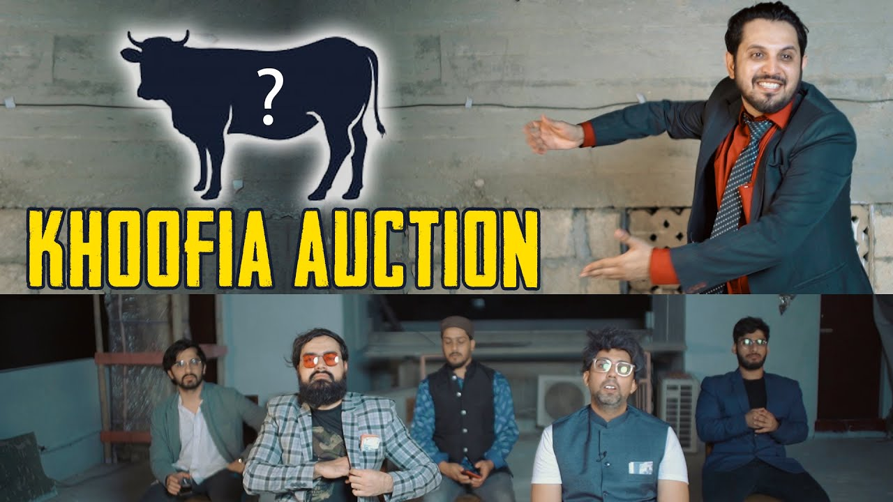 KHOOFIA AUCTION | Comedy Skit | Karachi Vynz Official