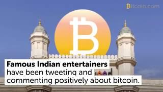 Bollywood Celebrities Embrace Bitcoin