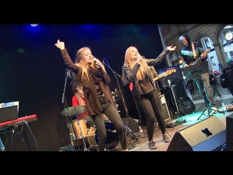 SBB #abendga Karaoke im HB Zürich.