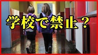 【衝撃】アメリカの学校で禁止されている意外なもの8選!【funny com】 ...