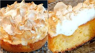 Пирог с ЯБЛОКАМИ и МЕРЕНГОЙ который с лёгкостью заменит Торт ПРОЩЕ и БЫСТРЕЕ Нежный Яблочный Пирог