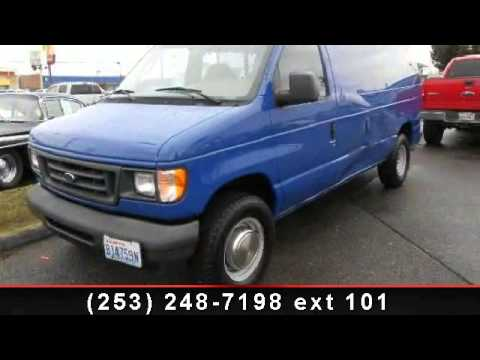 2003 ford econoline cargo van my town motors auburn for My town motors auburn wa