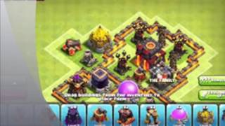 Clash of Clans : clash of clans town hall 7 defence