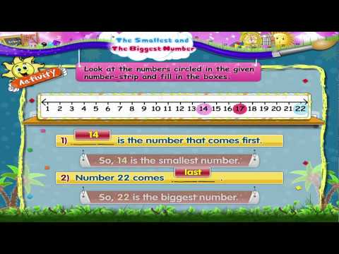 Learn Grade 2 - Maths - The Smallest and The Biggest Number