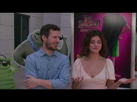 "Hotel Transylvania 3 PressDay SoundBites Selena Gomez - ""Mavis"" / Andy Samberg - ""Johnny"""