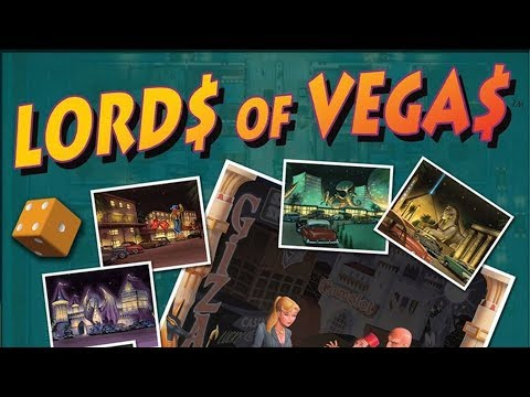 Lords of Vegas - Full Board Game Play Through