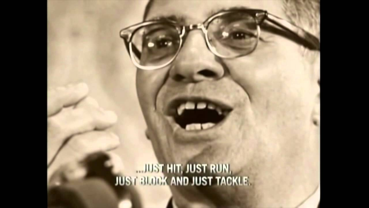 Vince Lombardi Pre Game Super Bowl Ii Speech 1968 Youtube