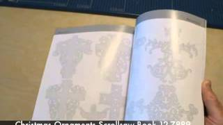300 Christmas Ornament Scrollsaw Patterns Book Preview