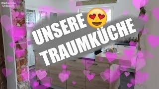 Haus Update 🏡 Unsere Traumküche ist da! 😱😍 Untere Etage fast fertig 🙌🏻 Unser Eigenheim ❤️