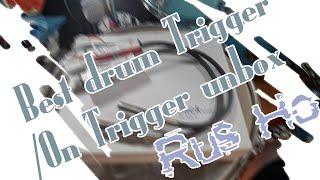 Rus Ho Unbox Series (鼓器材開箱系列)/ Best drum Trigger/On Trigger unbox (大鼓觸發器開箱影片)