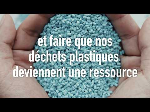 SUEZ, faire des déchets plastiques une ressource