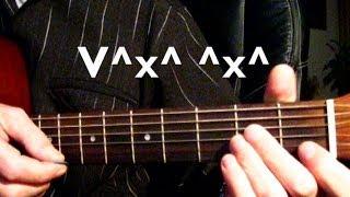 Агата Кристи - Я на тебе, как на войне Тональность (Аm) Песни под гитару