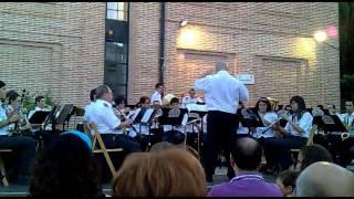 El sitio de Zaragoza.  Banda Sinfónica Complutense 26-8-2011