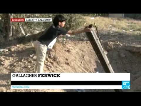 Exclusive: Hamas rocket launch pad revealed near Gaza homes