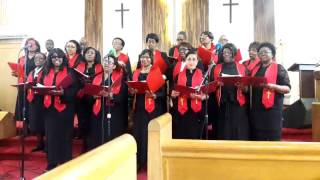 Holy is He by the Sanctuary Choir of Irvington Seventh Adventist Church in Divine Worship of Sabbath