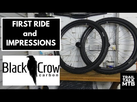 Black Crow Carbon Wheels - First Ride and Impressions