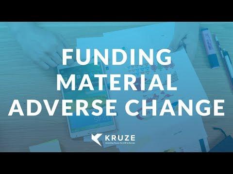 Funding MAC (Material Adverse Change) in Venture Debt