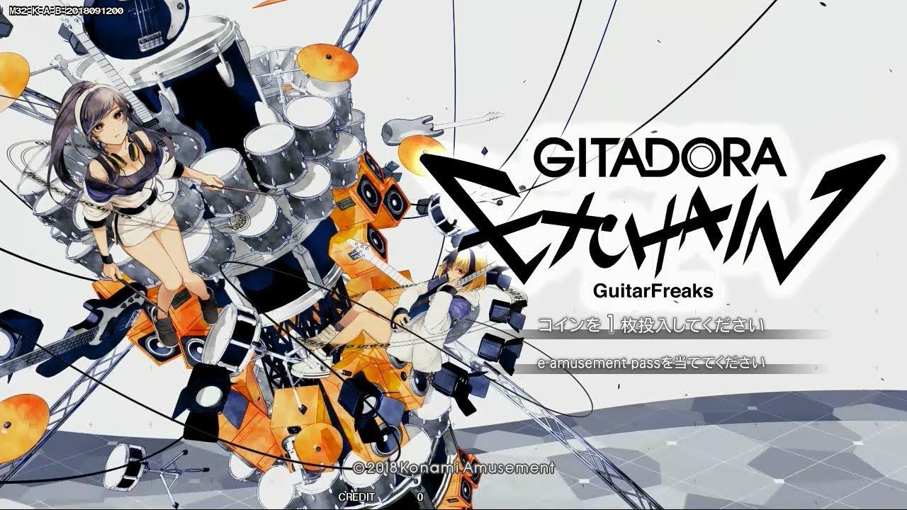 GITADORA EXCHAIN - GuitarFreaks (Standard play)