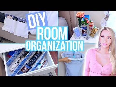 DIY Room Organization and Storage Ideas!