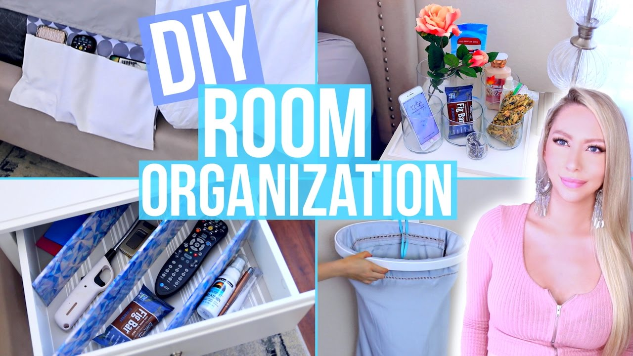 DIY Room Organization and Storage Ideas! - YouTube
