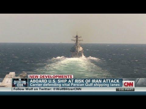 Aboard U.S. ship