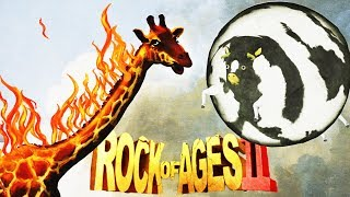 The Deadly Burning Giraffe and Cow Rock! - Rock of Ages 2: Bigger and Boulder Gameplay