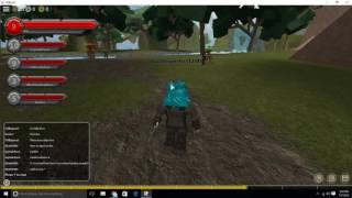 Roblox Shard online Gameplay Raiding the mobs D