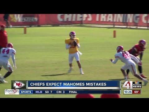 Chiefs prepare for first preseason game