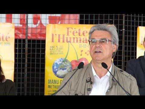 Patrick Le Hyaric :la fête de l'Humanité sera la Fête de la solidarité avec les peuples