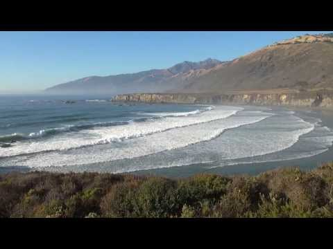 "Relax with Dean Evenson's Music on the Big Sur Coast, from the CD ""Healing Waters"""