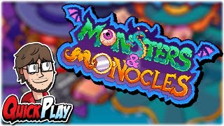 QuickPlay: Monsters & Monocles   First Impressions / Review / Gameplay   Retromation