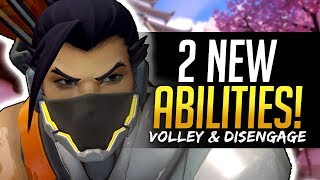 Overwatch HANZO 2 NEW ABILITIES - Volley and Disengage thumbnail