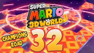 Let's Play Super Mario 3D World Part 32: Champions Road [ENDE]