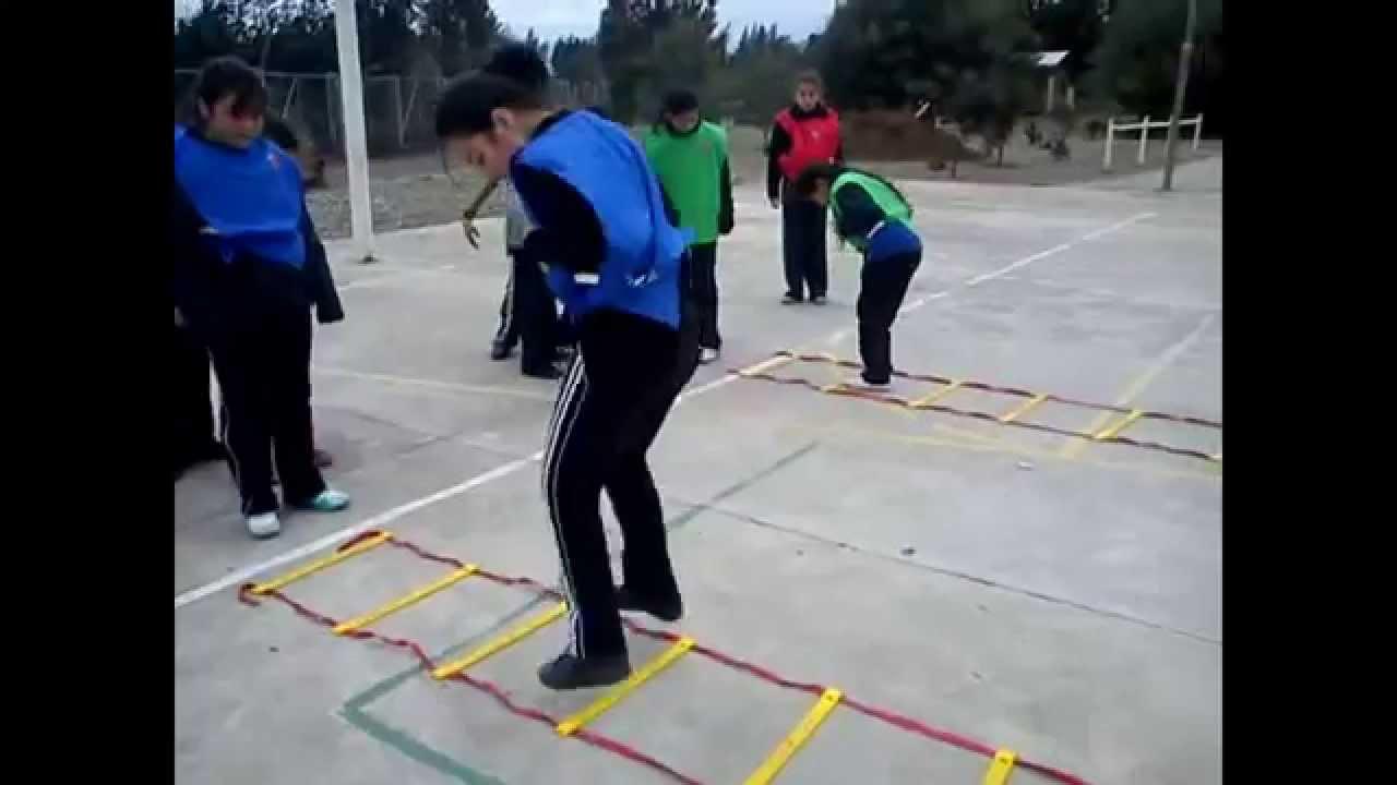 Ejercicios En Circuito Y Coordinacion : Educación fisica coordinación youtube