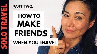 Hook up with other solo travellers