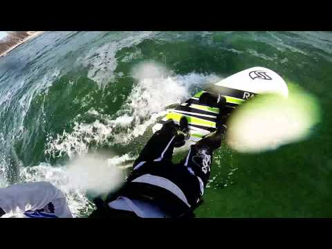 Flysurfer Razor Vorserientest vom Baltic Kite Center