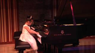 Sunny Chen  (5years)Plays  The Bronze Bear by  Yvonne Adair