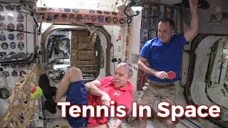 Tennis in Space