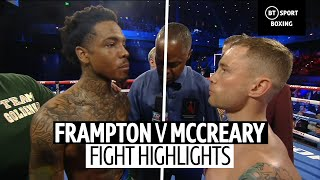 Carl Frampton vs Tyler McCreary fight highlights | Frampton steps up to super featherweight