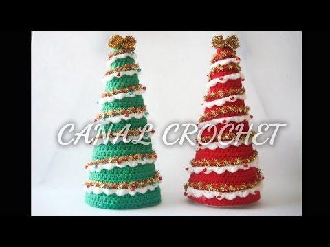 Patrón Árbol Navidad Crochet - Telares & Manualidades | 360x480