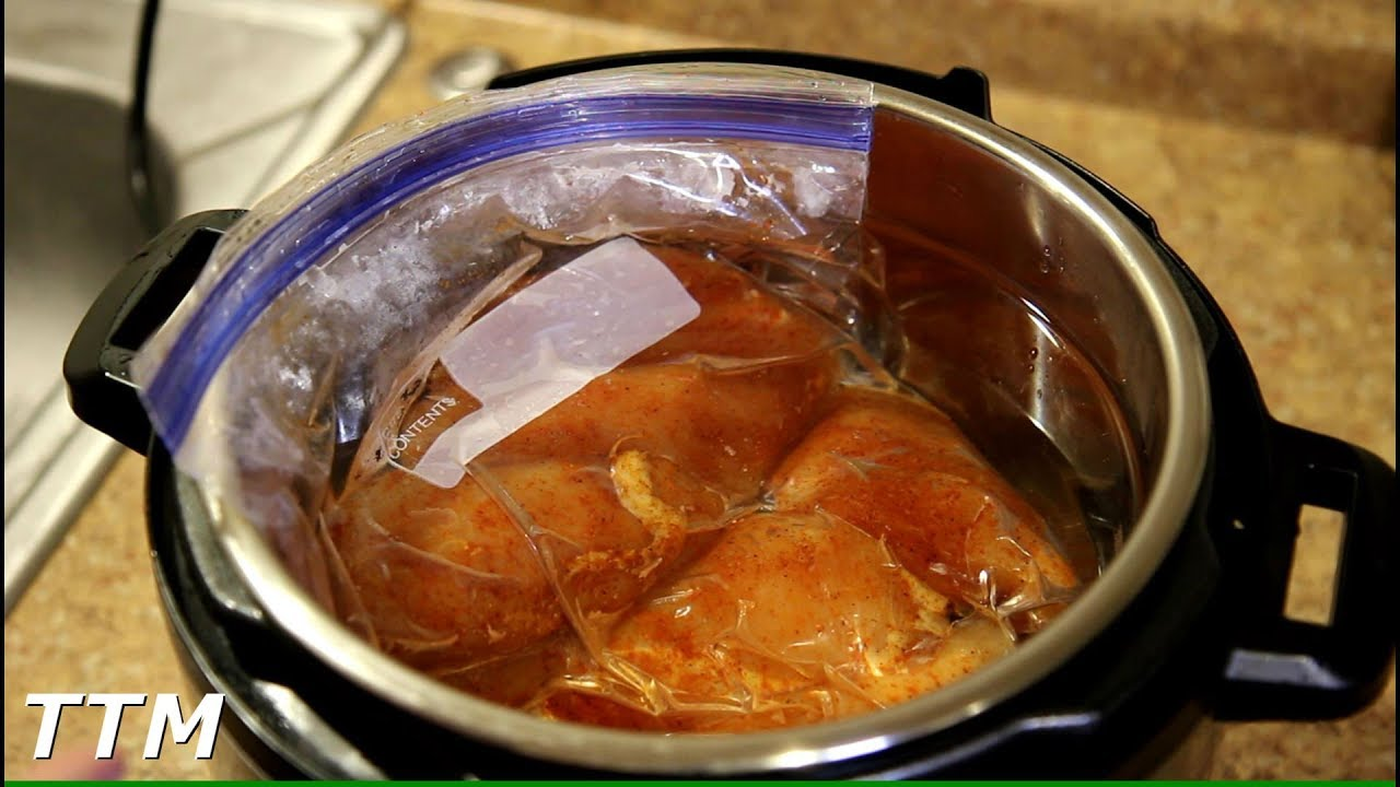 Instant Pot Ultra Chicken Breast Sous Vide Youtube