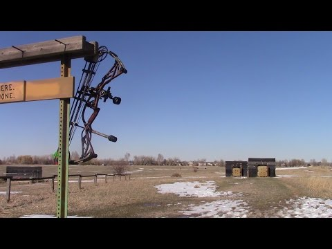 2016 Hoyt Defiant Review  60yard grouping