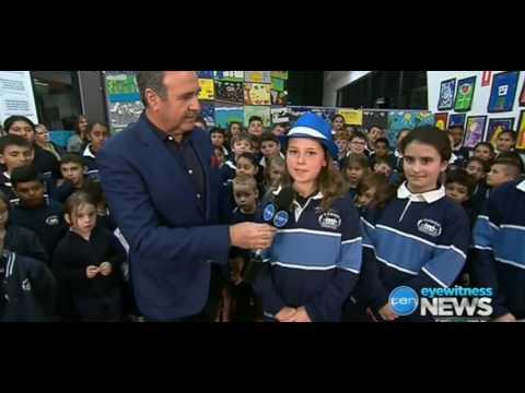 TEN Melbourne News ( Eyewitness) - Roxburgh homestead primary school