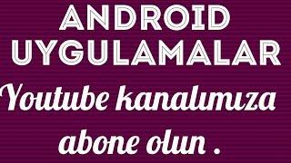 Android İçin İpuçları #8 Ana Ekrana Klasör Kısayolu Ekleme